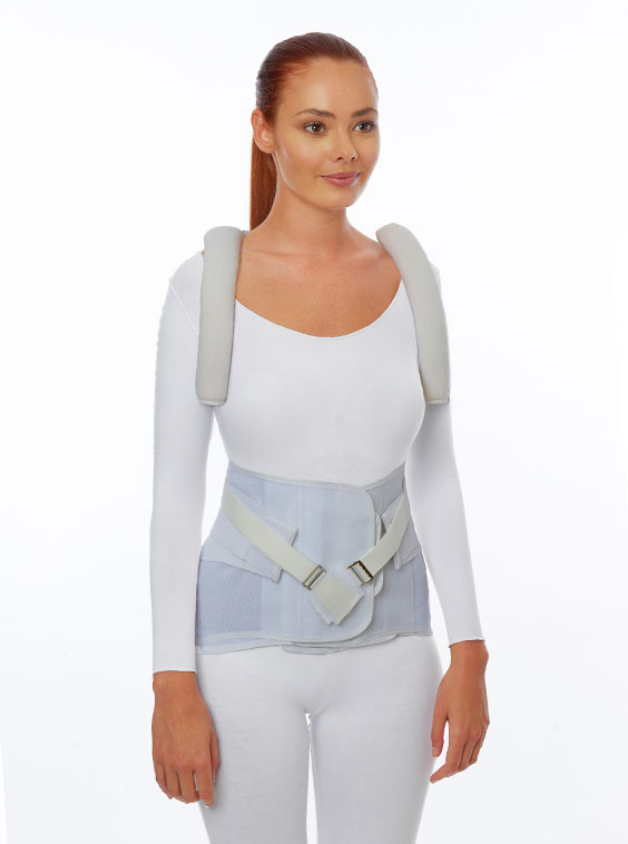 Thoraco Lumbosacral Support - Special Made to Measure (front)