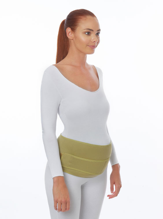 Neoprene Maternity Support Belt Dual Pull (front)