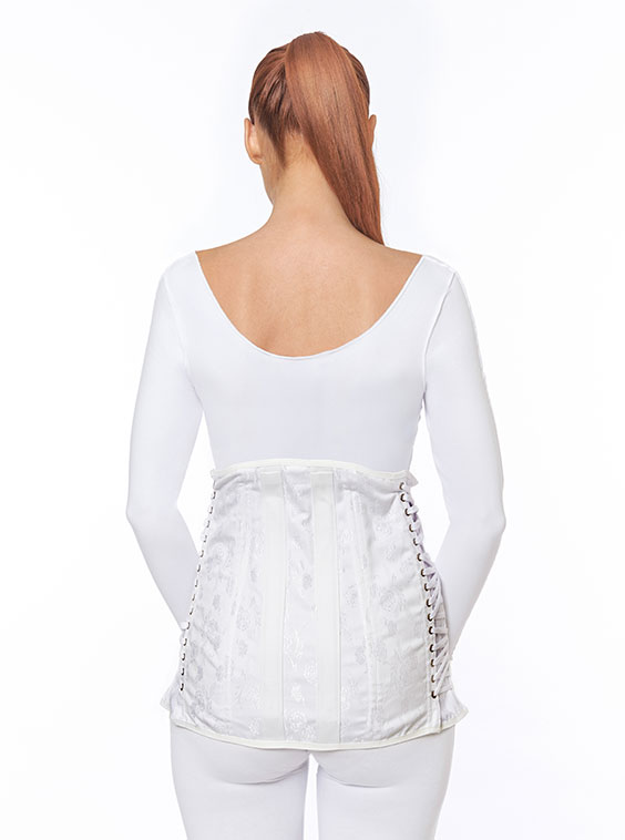Lumbosacral Corset Female Short - Special Made toMeasure (back)