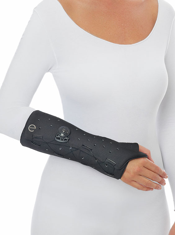 EXOS Waterproof Thermoplastic Thumb Spica Fracture Brace