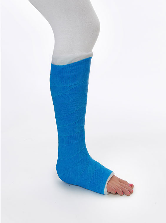 Synthetic Short Leg Fracture Cast Brace