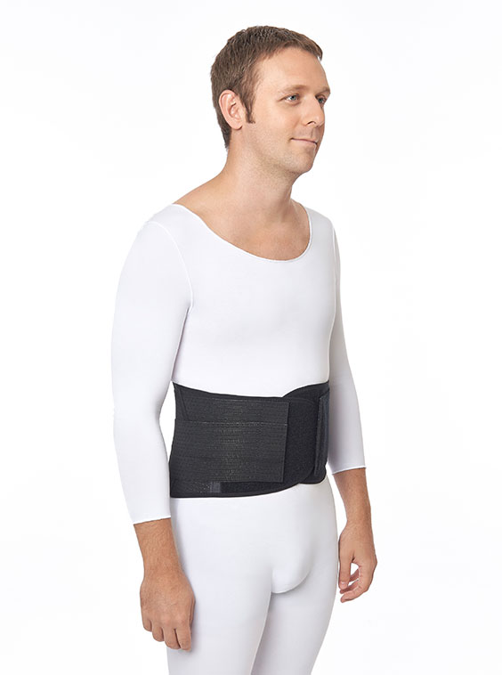Strong Ventilated Elastic Lumbosacral Support (front)